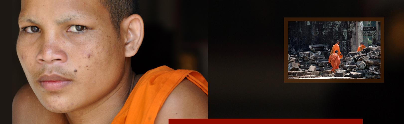 Monniken Cambodja