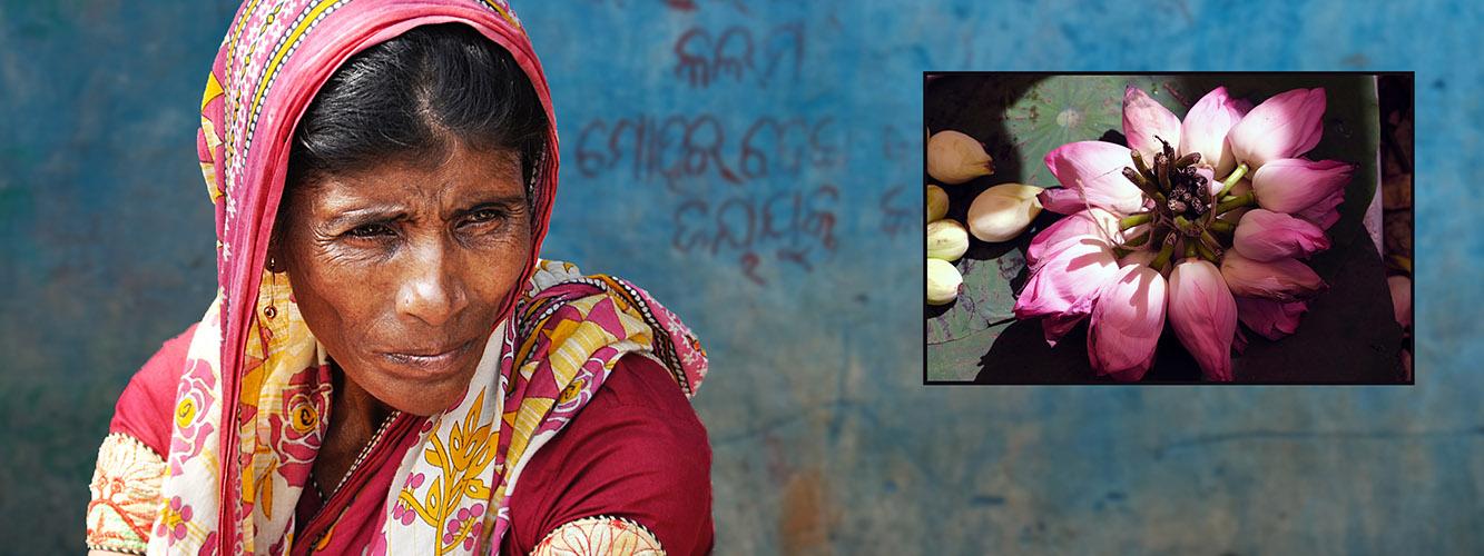 DSCF5174 marktvrouw Kolkata
