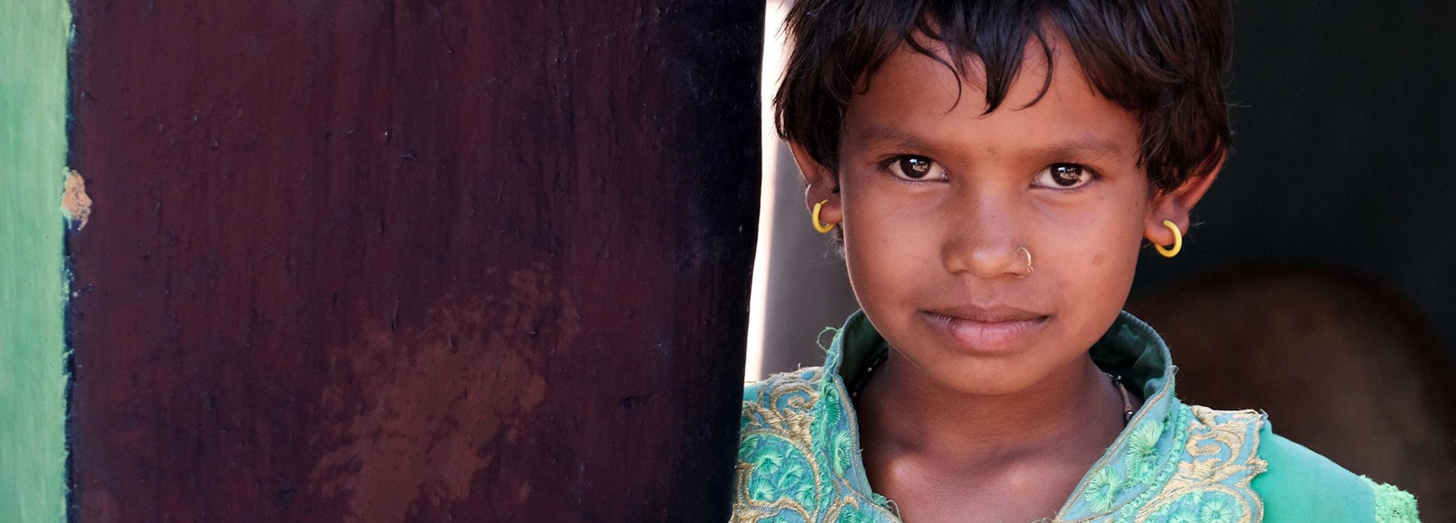 Meisje in Groen Odisha