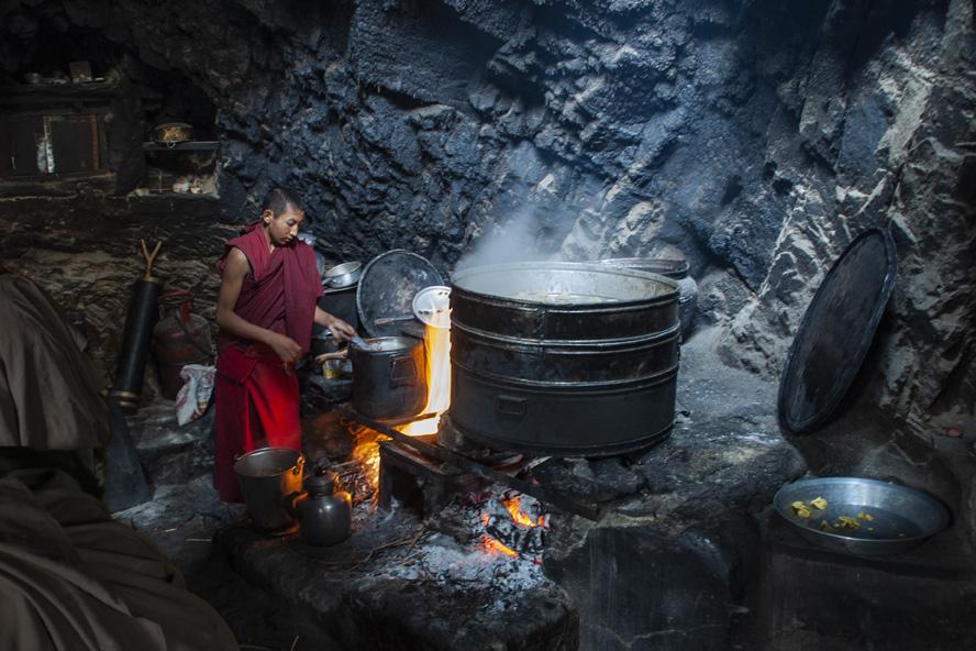 Keuken Phugtal klooster