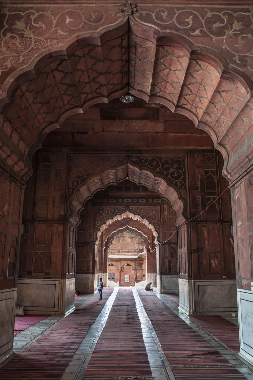 interieur rode hindu tempel