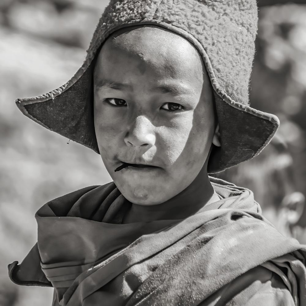 kind monnik Phugtal klooster